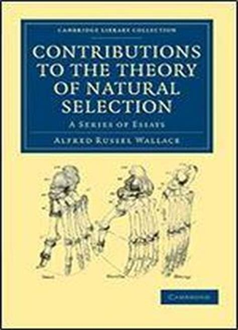 three contributions to the theory of books contributions to the theory of selection a series
