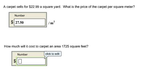 how to measure square yards of carpet www