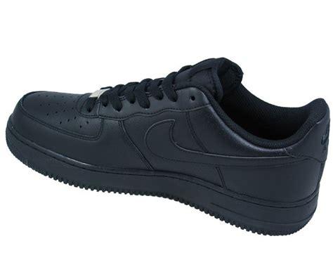 nike mens black sneakers nike shoes mens air 1 black low perforated