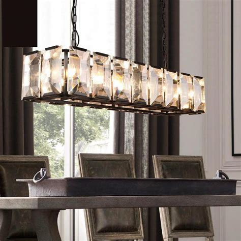chandelier awesome large rectangular chandelier