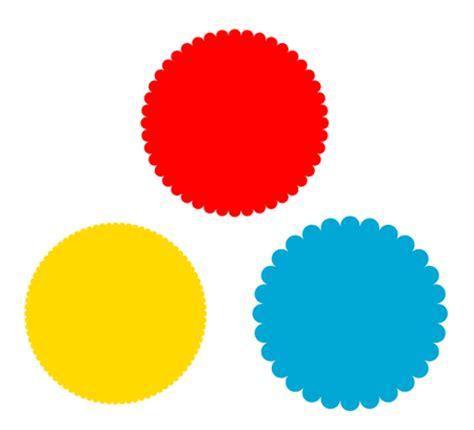 Cl Spike Circle circle scallop border www pixshark images