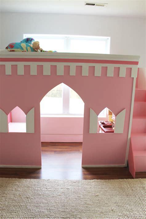 princess loft bed remodelaholic how to build a princess castle loft bed