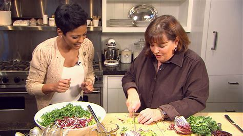 ina garten paris apartment tamron cooks holiday meal with barefoot contessa today com