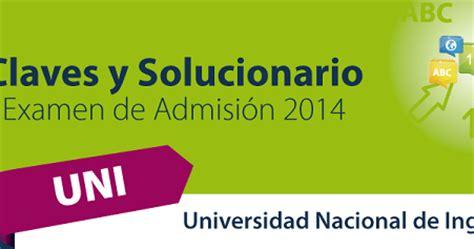 preguntas de logica para examen de admision solucionarios del examen de admisi 243 n uni 2014 1 prueba