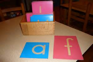 st andrew s montessori 187 archive 187 the sandpaper letters