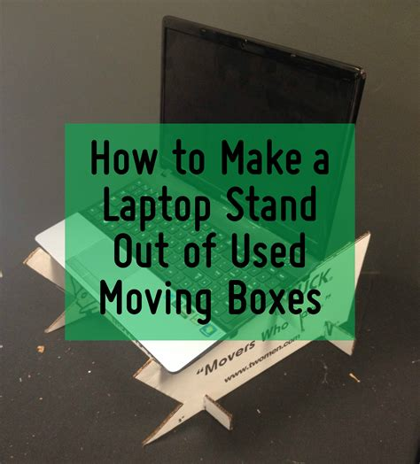 how to make a laptop desk how to make a laptop desk out of used moving boxes