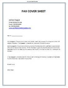 Fax Cover Letter Template Microsoft Word by Fax Cover Sheet Template Word Templates