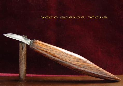 Handmade Wood Carving Knives - wood carver tools mccoun usa custom made 6 quot wood