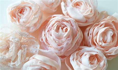 Stoffrosen Selber Machen by Stoffblumen Selber Machen Und Romantische Note Zaubern 30