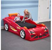 Hot Wheels Toddler To Twin Race Car Bed  Red Kids