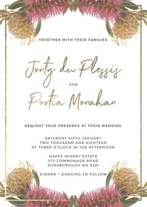 Wedding Invitations Nc by Floral Wedding Invitations Wedding Invites Cards