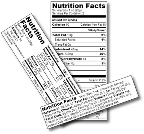 Create Generate Nutrition Labels Nutritional Label Creator Software Recipal Fda Nutrition Label Template