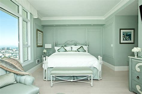 Mint Room by Dipped In Mint Monochromatic Rooms