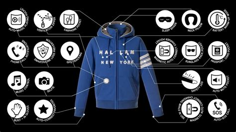 Jaket Travelling six craziest digital smart jackets best jackets