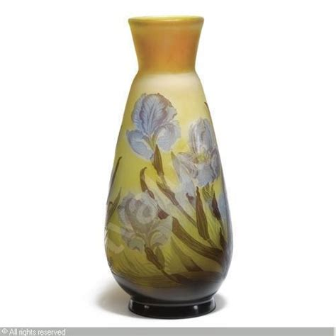 Iris Vase by A Large Iris Vase Sold By Sotheby S On Monday