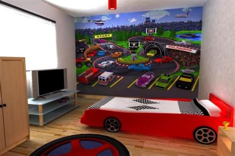 race car wall mural 15 inspiring wall murals for room ultimate home ideas