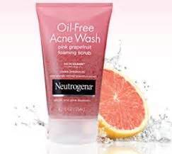 Grape Detox Acne by Product Review Neutrogena Free Acne Wash Pink Grape