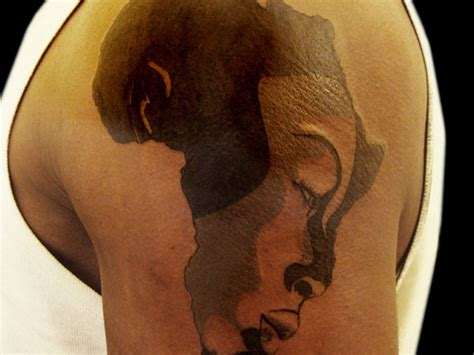 queen face tattoo african map and queen face tattoo on shoulder