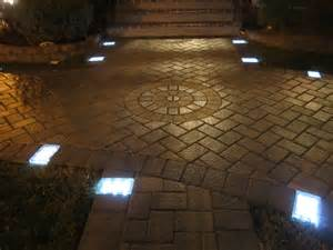 Patio Paver Lights Solar Led Paver Light Project In Ny And Installation Tips The Official Ledpavers