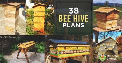 diy bee hive plans  step  step tutorials
