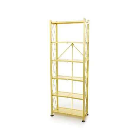 Origami Shelving - origami foldable steel 6 tier bookshelf 8150904 hsn