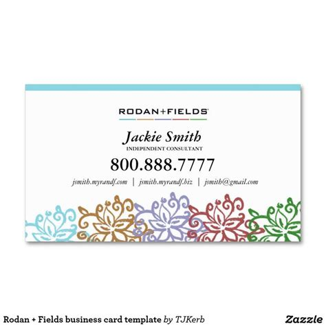 rodan and fields business card template 43 best r f images on