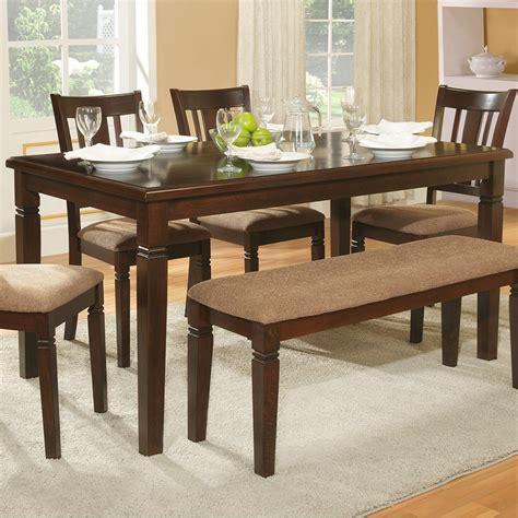 Homelegance Dining Room Furniture Homelegance Devlin Transitional Dining Table With Notch