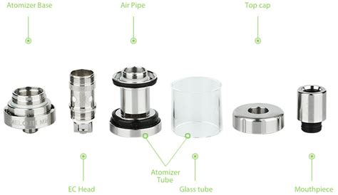 Eleaf Melo Iii Melo Iii Mini Air Pipe Spare Parts Eleaf Melo 3 Mini Atomizer 2ml