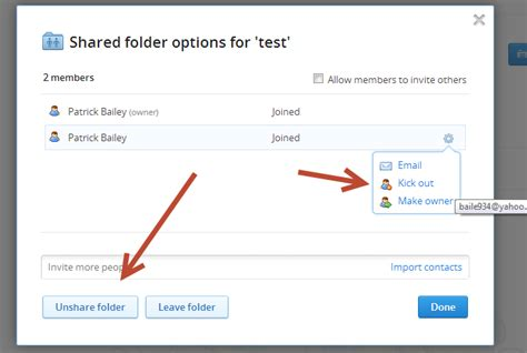 dropbox quit shared folder whiteboard coder dropbox with your clients