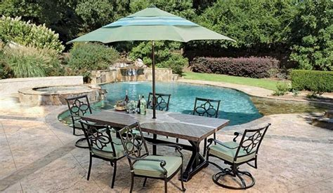 Veranda Classics Patio Furniture Veranda Classics Dynasty Dining Patio Set Delray Lauras Home And Patio Furniture East Northport