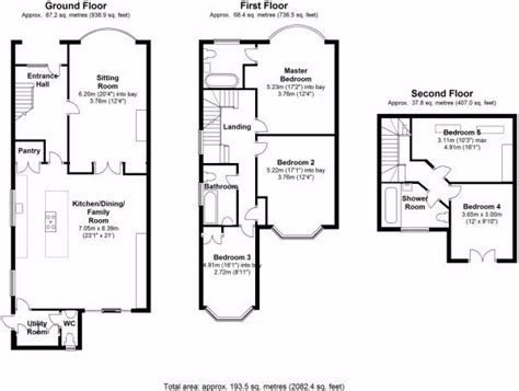 kitchen extension floor plans 3 bed house floor plan rear extension google search