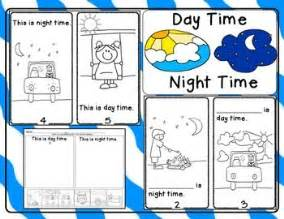 day time night time emergent reader and response activities