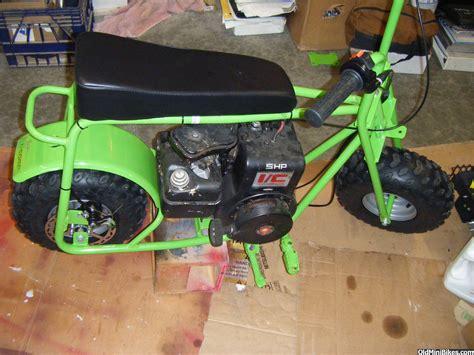 used doodlebug mini bike green baja racer
