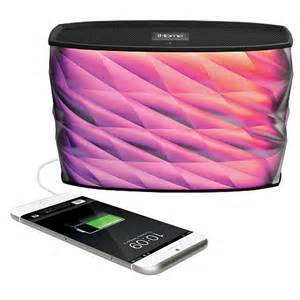 ihome color changing speaker ihome splashproof color changing recharge speaker toys quot r quot us