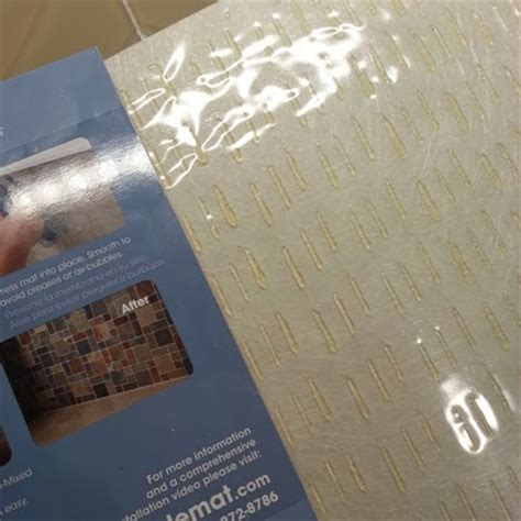 jenn ski installing tile with adhesive sheets