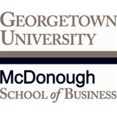 Georgetown Mcdonough Mba Class Profile by Mcdonough School Of Business