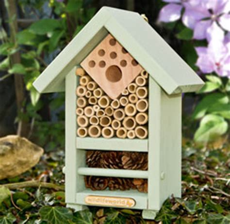house and garden pest bee and bug house