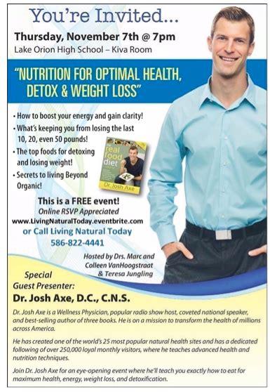 Optimal Health Detox Program by Free Event Nutrition For Optimal Health Detox And Weight