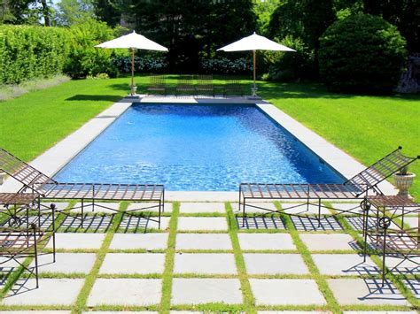 pools in backyard 15 creative ways to use pavers outdoors hgtv s