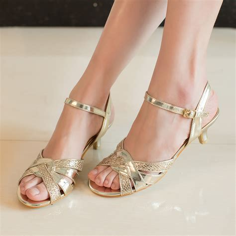 gold heels for wedding gold wedding shoes low heel is heel