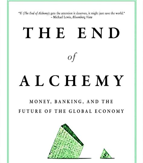 Pdf End Alchemy Banking Future Economy by Central Bankers Are Losing Faith In Their Own Alchemy