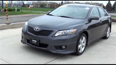 Toyota Camry Bluetooth 2011 Toyota Camry Se Sport Bluetooth Xm Excellence Cars