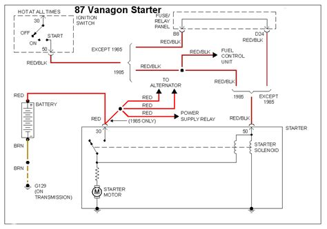 vanagon ignition switch wiring diagram k