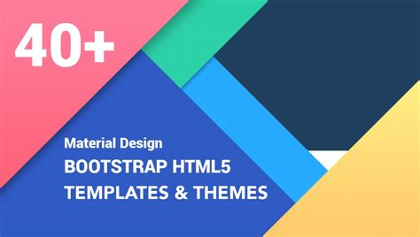 Best Resume Wordpress Theme by 40 Best Material Design Bootstrap Html Templates And Themes