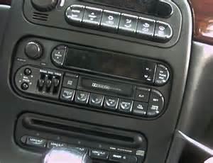 Chrysler 300m Radio Autoradio Wechsel Chrysler 300m Einbauanleitung
