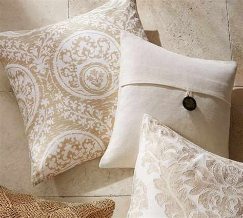 Pottery Barn Linen Pillow Covers by Textured Linen Pillow Cover Pottery Barn