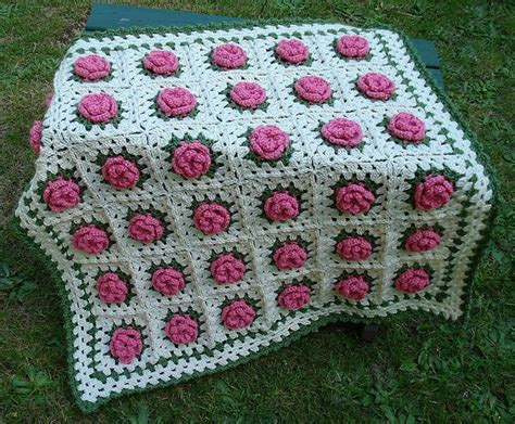 crochet pattern rose field baby blanket 785 best images about all things crocheted afghans
