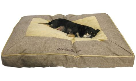 eddie bauer dog bed eddie bauer linen gusset dog bed groupon goods