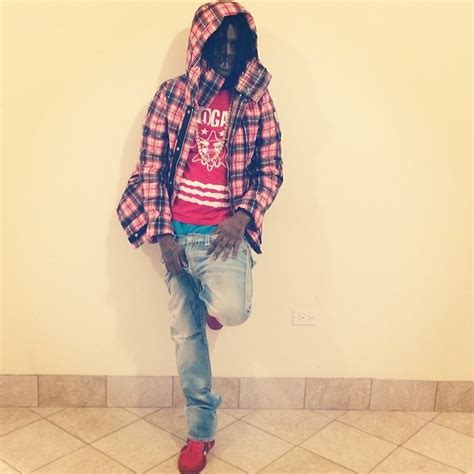 Chief Keef Wardrobe by Chief Keef Wearing Glo Clothing Gloyalty 300 Shirt In