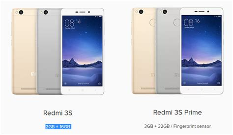 Xiaomi Redmi 3s Prime xiaomi redmi 3s vs redmi 3s prime what s the difference